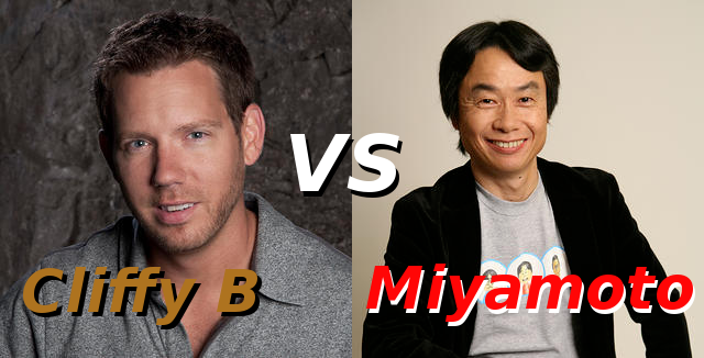 Cliffy B VS Miyamoto