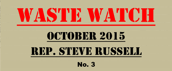 Waste Watch No 3 by Re. Steve Russell