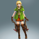 Linkle with her crossbows
