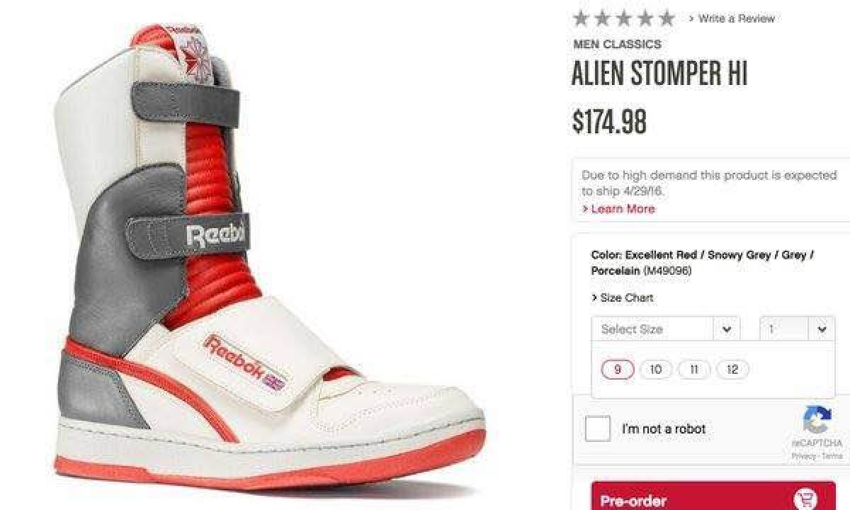 Women wouldn t be interested in owning a replica of Ripley s shoes from  Aliens e81580a3d