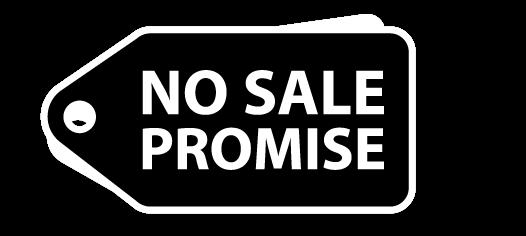 No Sale Promise