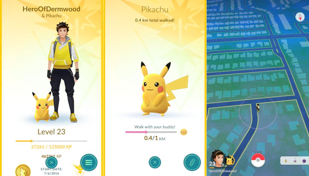 Pokemon Go's New Buddy System