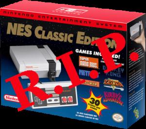 RIP: NES Classic Edition